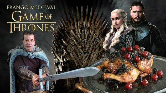 Frango Medieval Game Of Thrones Got - Churrasqueadas