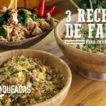 3 Receitas de Farofa para Churrasco - Churrasqueadas