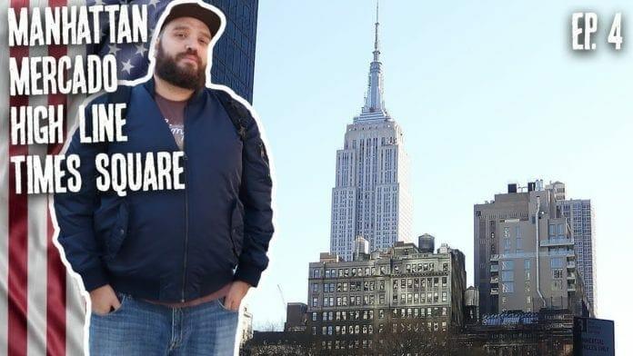 Times Square, High Line, Mercado e Metro - New York Vlog 4 - Canal Rango