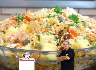 Farofa com Queijo Coalho - Tv Churrasco
