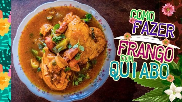 Égua Doido - Como Fazer Frango com Quiabo (Receita de Frango Cozido com Quiabo) - Cansei de Ser Chef