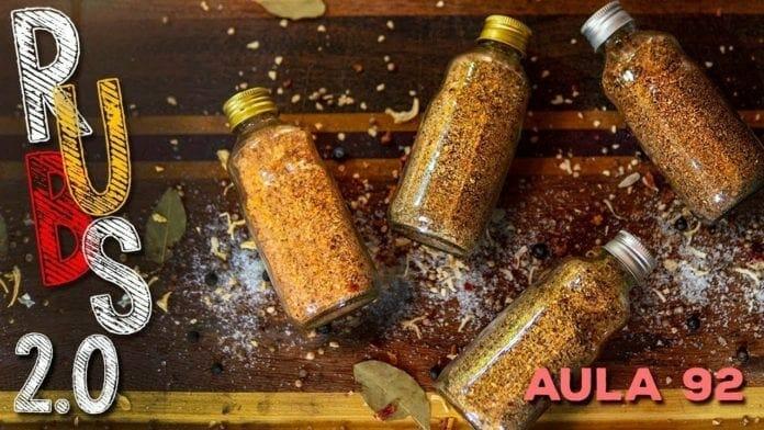 Rubs 2.0 (Como Fazer Rub para Defumação) - Cansei de Ser Chef