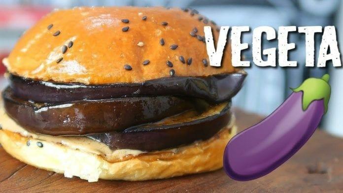 Hambúrguer Vegetariano com Berinjela e Pasta de Amendoim - Canal Rango