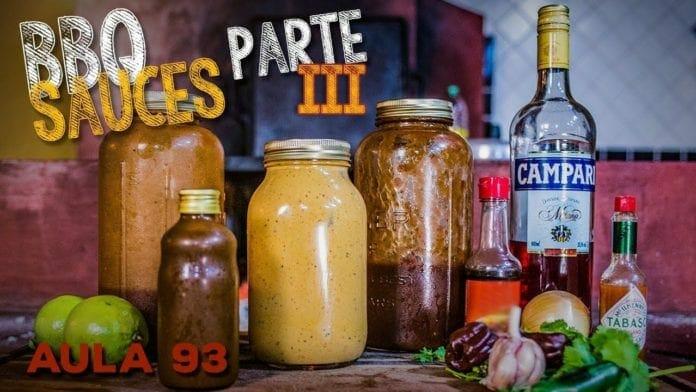 Barbecue Sauce 3 (Como Fazer Molho Barbecue com Bourbon) - Cansei de Ser Chef
