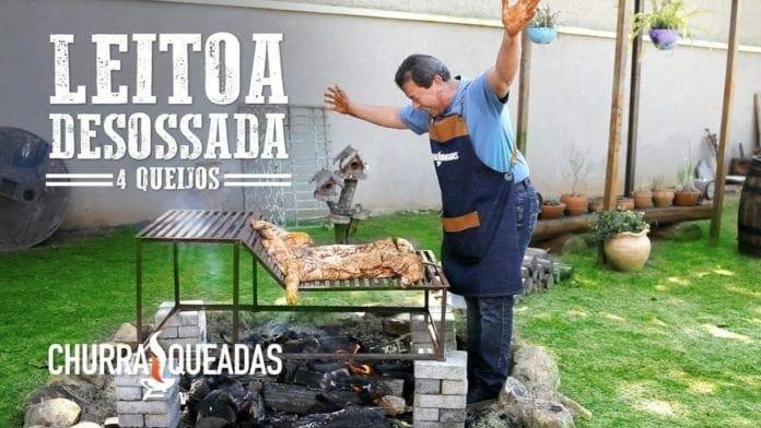 Leitoa Desossada 4 Queijos - Churrasqueadas