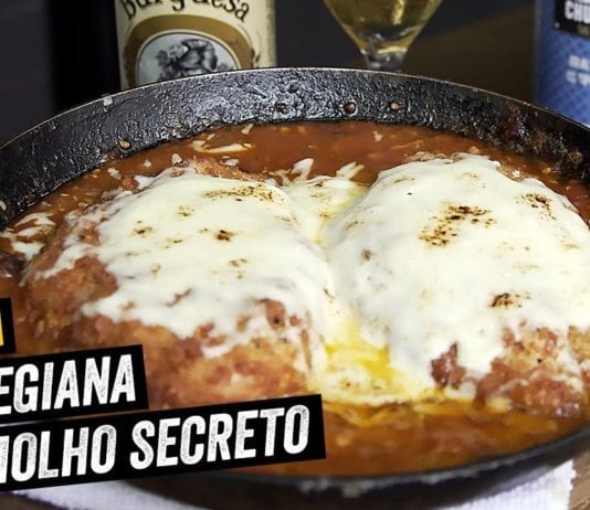 Frango à Parmegiana com Molho Secreto - BBQ em Casa