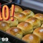 Pão (Como Fazer Pão de Hambúrguer) - Cansei de Ser Chef