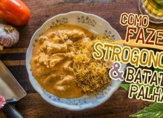 Égua Doido - Como Fazer Strogonoff & Batata Palha (Receita de Estrogonofe de Frango) - Cansei de Ser Chef