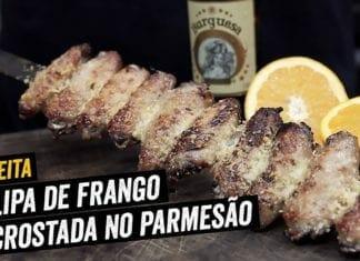 Tulipinha de Frango Encrostada com Parmesão - BBQ em Casa