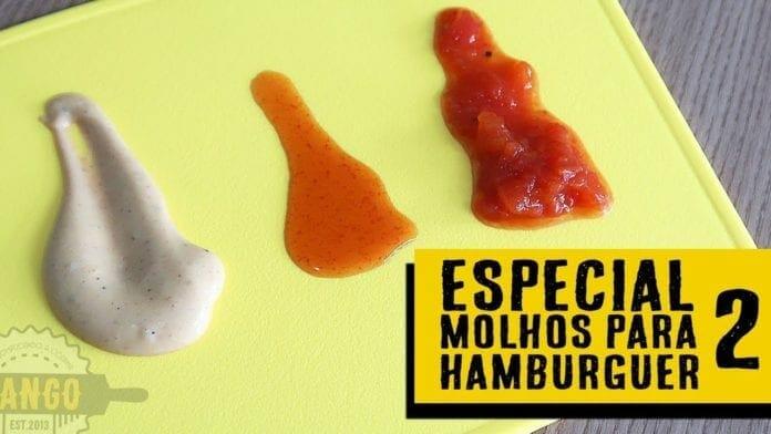Especial 9 Molhos para Hambúrguer - Parte 2 - Burger Sauces - Canal Rango