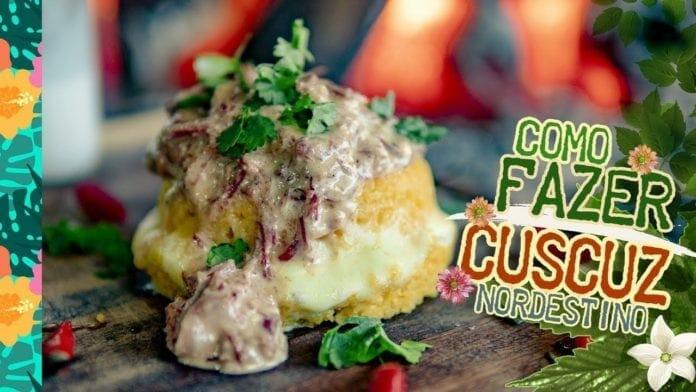 Como Fazer Cuscuz Nordestino (Receita de Cuscuz com Queijo Coalho e Carne Seca) - Cansei de Ser Chef