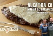 Alcatra com Molho de Gorgonzola (Part. Gibão Bbq) - Churrasqueadas