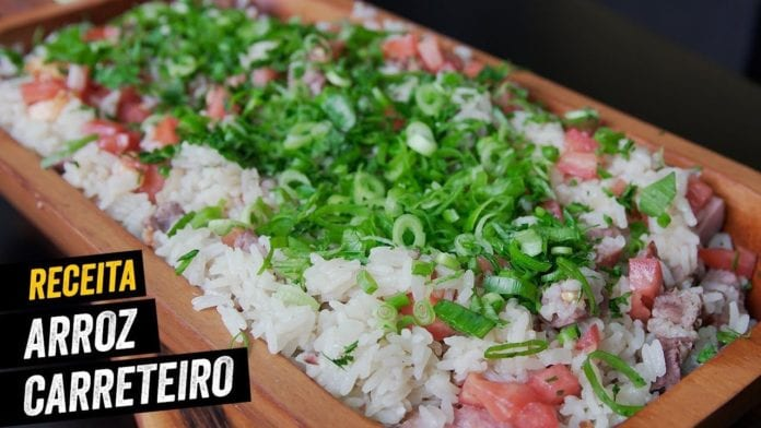 Arroz Carreteiro de Churrasco - BBQ em Casa