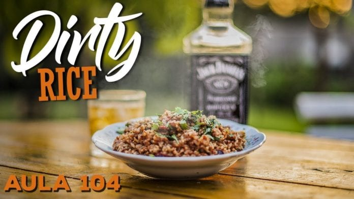 Dirty Rice (Como Fazer Arroz Cajun da Louisiana) - Cansei de Ser Chef