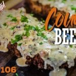 Country Beef (Como Fazer Bife à Milanesa & Country Gravy) - Cansei de Ser Chef