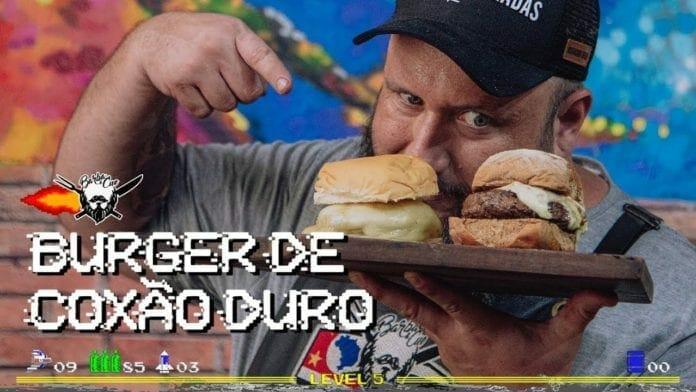 Burger de Coxão Duro - #barbaecue - Barbaecue