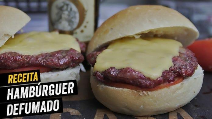 Como Fazer Hambúrguer Defumado - BBQ em Casa