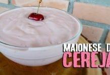 Como Fazer Maionese de Cereja - Canal Rango