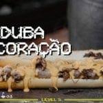 Sanduíche de Coração - Releitura Pão de Alho do Gordo - #barbaecue - Barbaecue
