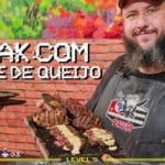 Steak com Creme de Queijo - #barbaecue #churrascosemfrescura - Barbaecue