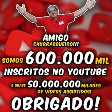 Canal Youtube TvChurrasco